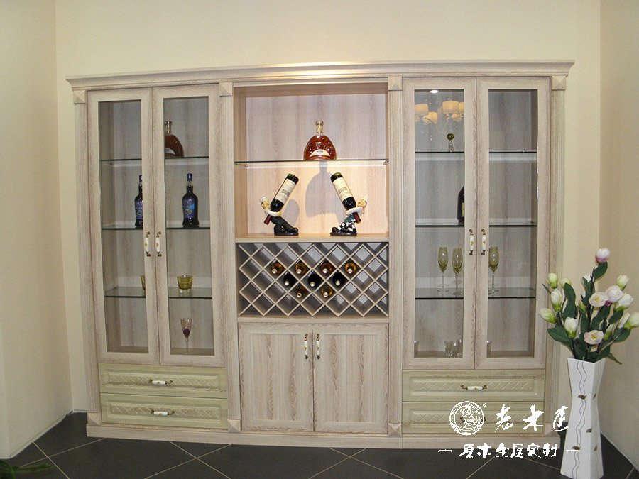 家用酒柜 家用酒柜装修效果图 -漳州老木匠