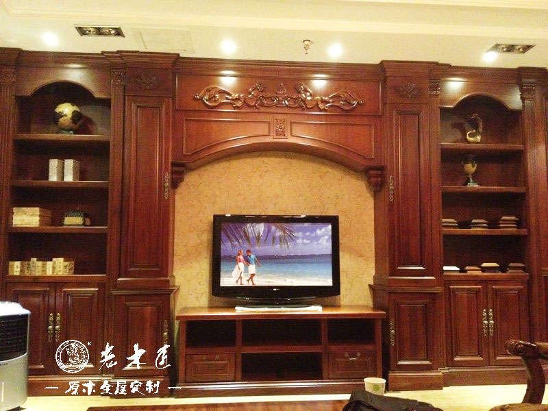 客廳電視背景墻裝修