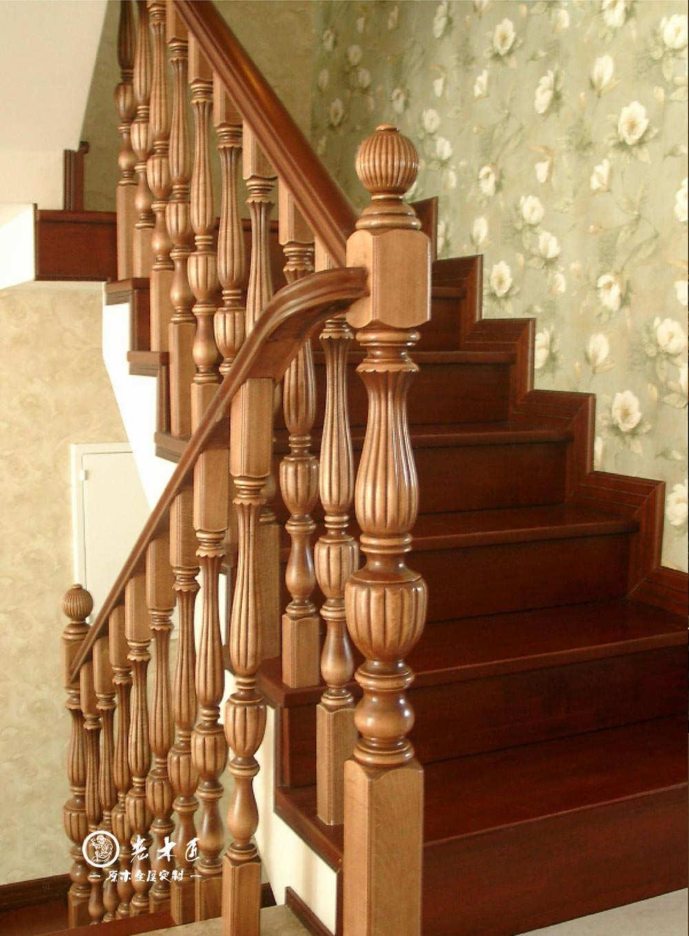 提供实木楼梯设计图片,中国楼梯行业获多项国家标准,实木楼梯产品开裂