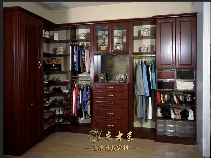 实木衣柜设计效果图 -漳州老木匠