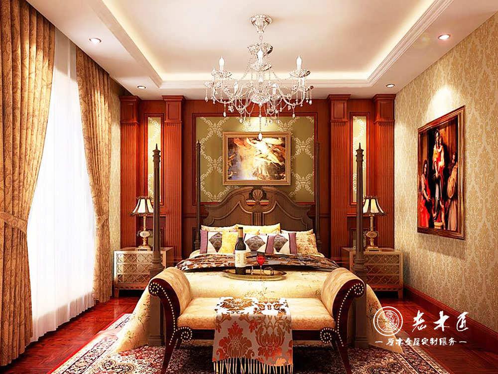 卧室欧式背景墙设计效果图