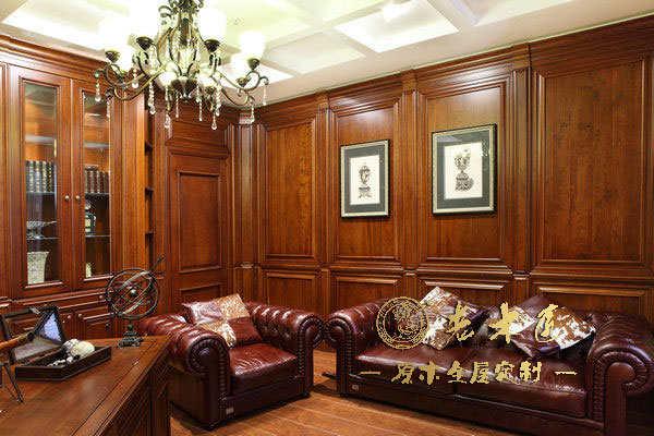 客厅护墙板设计图片 护墙板装修图片