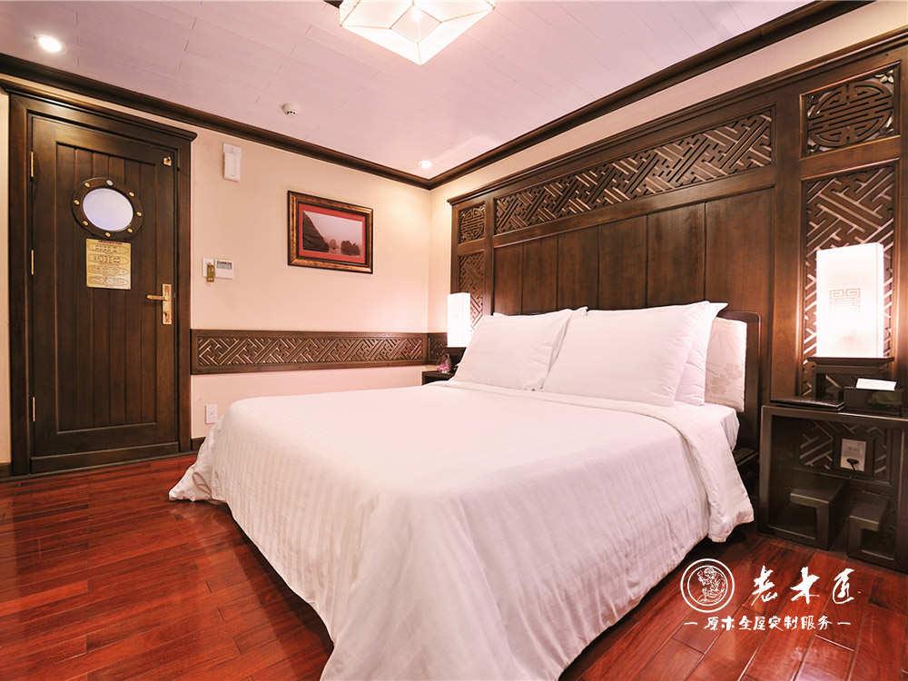 中式臥室床頭背景墻定做品牌 實木背景墻品牌